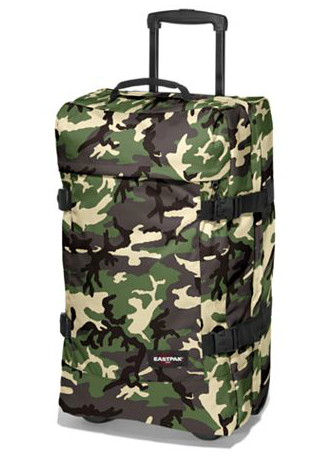Camo Eastpak luggage from House of Fraser