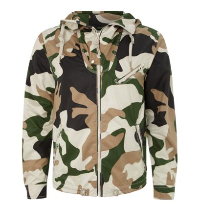 a unique Camouflage design by Diesel @ House of Fraser