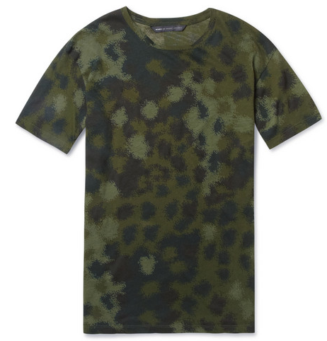 Get your Camo on with this Tee by Marc by Marc Jacobs @ MrPorter.com