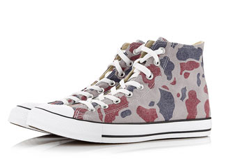 Escape from the old routine in these high tops from Converse @ Topman.com