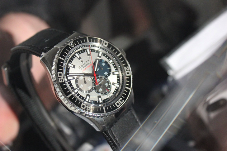 The watch worn by Baumgartner during descent to earth