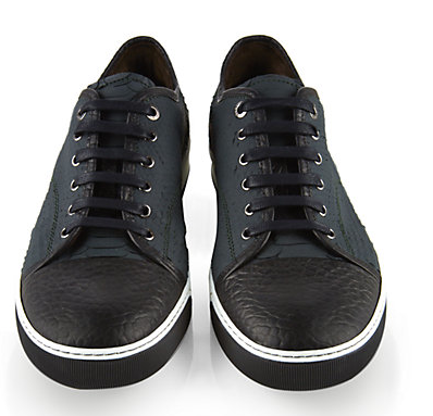 Winter can be an incredibly formal affair, these Lanvin sneakers offer a luxurious alternative to accent your winter casual wear.