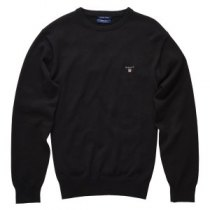 £90 Solid Cotton Crew Sweater | GANT