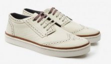 £90 IIVOR Brogue Detail Suede Trainers | Ted Baker