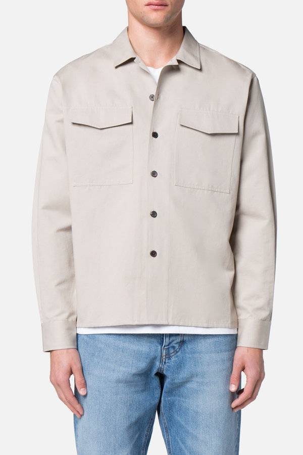 beige overshirt mens