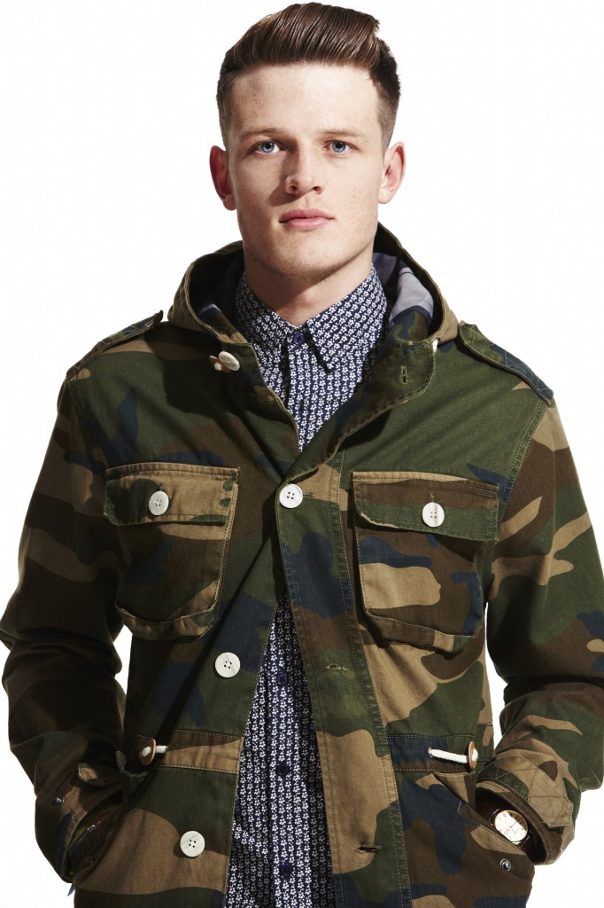 See what I mean about Camo, its everywhere, but thought New Look had captured the trend in a very wearable way. This brand both seem to be started to get their menswear and its improving season on season. So keep it up New Look you can't afford to rest on those laurels.