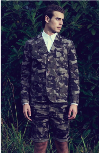 Camouflage is a massive trend for SS13. Before, you say anything, I'm not even contemplating advising going for a drink in head to toe camp. Well unless it's for a TA meeting. But believe it or not this highly directional look is from no other then Debenhams.