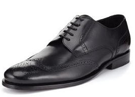 Next up is something a little more formal. A nice black Brogue from Marks & Spencer and at a price which I could not believe sir !