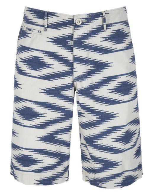 Printed shorts £85 Denim & Supply Ralph Lauren This season it's all about prints, and what better way to showcase them, than with these ikat print shorts?