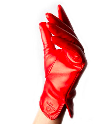 Paula Rowan Gloves come in a multitude of colours, not only RED, but it is Valentine's Day.