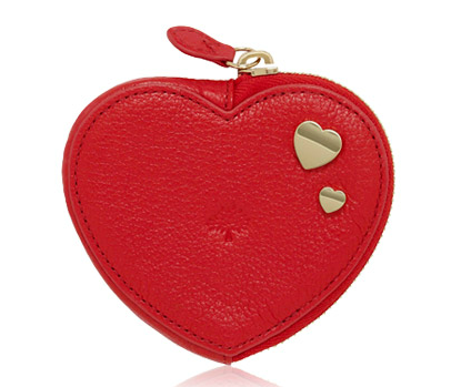 It might seem cliche to us, but trust me the ladies love Mulberry and this Heart purse ticks all the boxes
