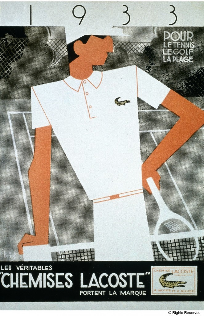 The very first Advertising campaign from Lacoste back in 1933