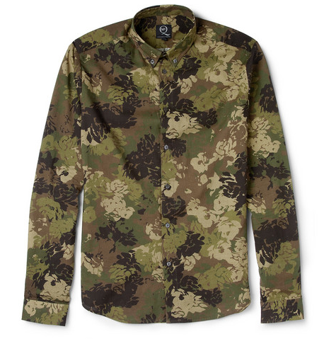 A great take on the camouflage print by McQ by Alexander McQueen @ MrPorter.com
