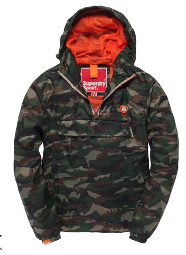 Must have piece, particularly for those pesky April showers is this Pac-a-mac from Superdry