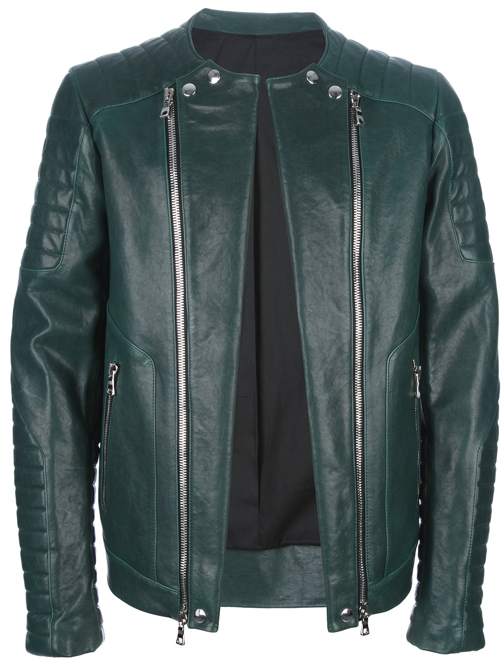 I expect my clothes to carry me from season to season and I like to invest in key pieces. This Balmain leather jacket is a wardrobe staple and perfect for ever changing climates as I travel from country to country. The colour of this piece is everlasting and will work with any outfit.