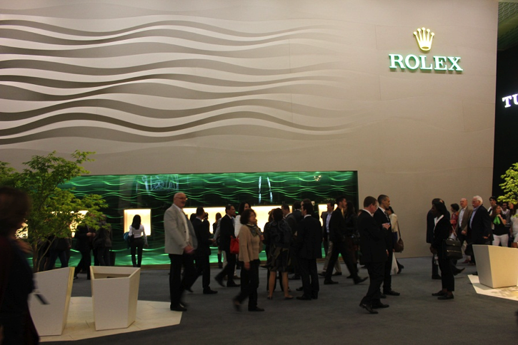 Rolex stand at BaselWorld 2013 – 1230 square metres, six weeks to construct