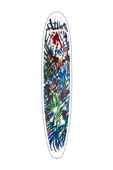 The Raymond Pettibon designed board