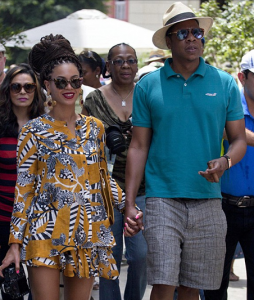 Mr & Mrs Carter on Holiday earlier this year in Havana