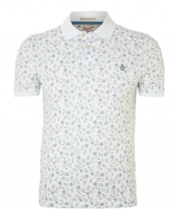 See it isn't all plain, show your flower power in this great polo by Original Penguin at House of Fraser