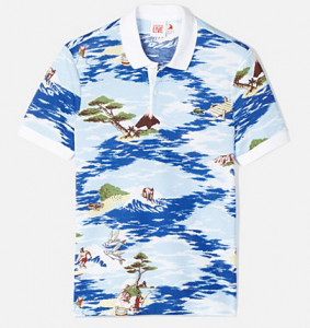 Come on show your adventurous side, in this Hawaiian print polo by Lacoste Live. It is meant to be summer after all !