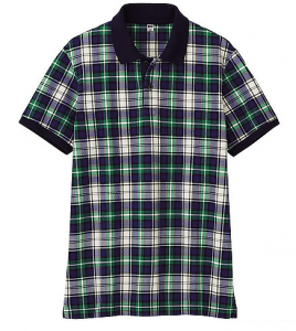 We all love a checked shirt and this polo is a great play on the theme. This one is from Uniqlo and if its good enough for Novak Djokovic and Adam Scott