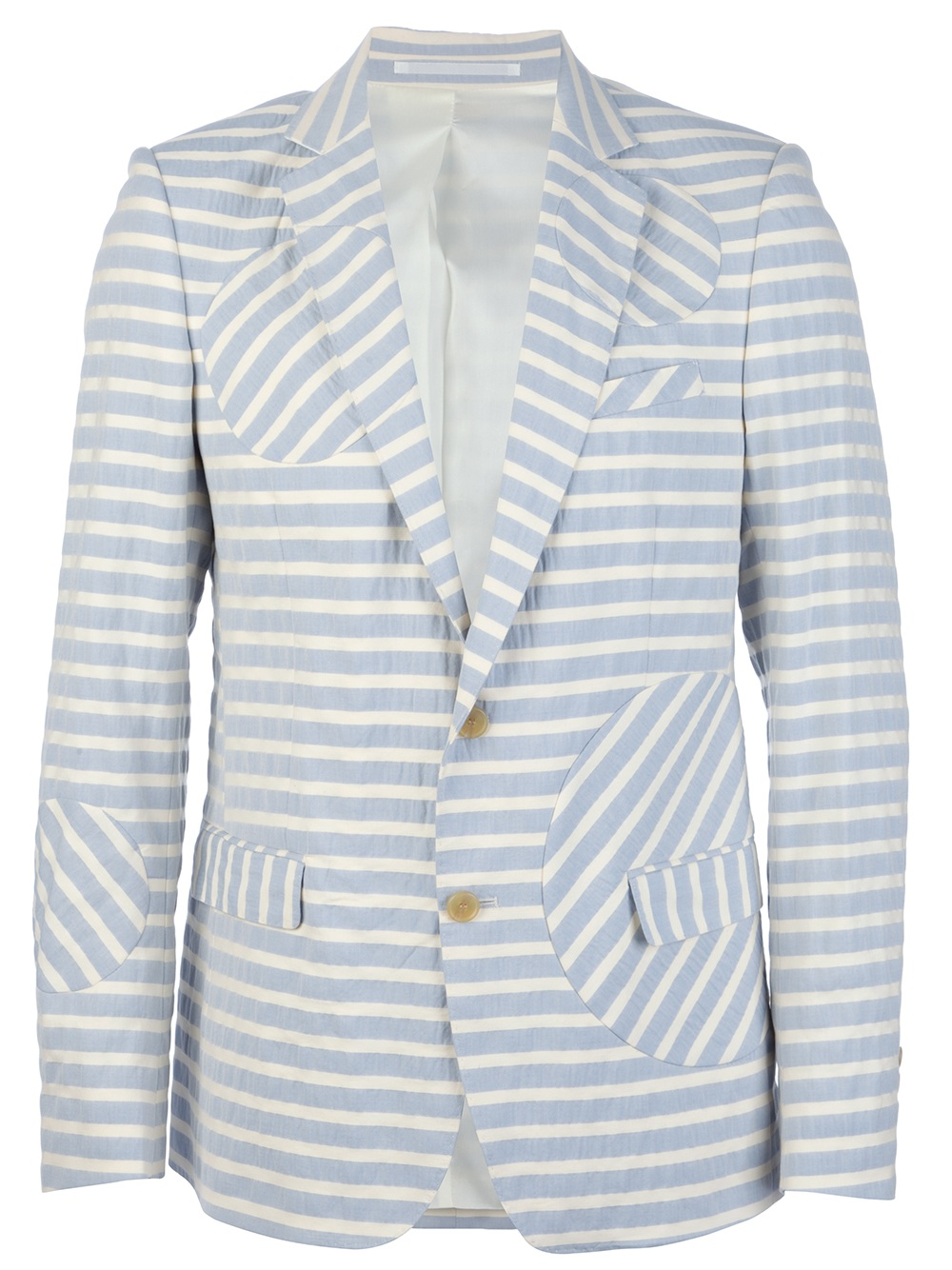 I really like this Walter van Beirendonck jacket with the matching shorts. I think they'd be great to wear together with a crisp white shirt or they'd also be nice separately. I've just got back from Marrakesh and this is what was missing from my wardrobe!