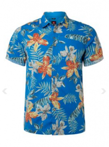 Be safe be seen in this classic Hawaiian Shirt by Quiksilver @ House of Fraser