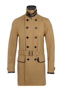 OK lets start with something a little left field and not your traditional Trench, from Belstaff @ Harrods.com