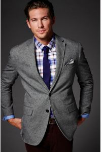Remember, workwear doesn't have to match the dull weather of an deep Winter day. Show your creative side by mixing it up. The American Retailer Banana Republic are masters of this, so don't worry if you don't have a store near you as their website is genius.