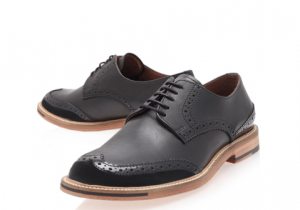 These brilliant Verdy Brogues from KG Kurt Geiger are spot on plus are available in Tan as well as Black and won't break the bank so buy both colour ways and they'll see you though any suiting combination, Simple.