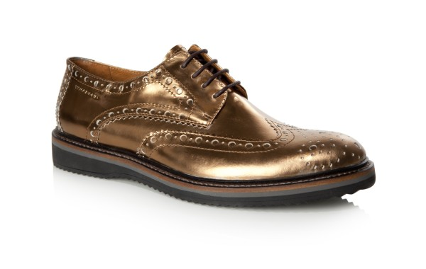Metallic is a real trend for this season particular in footwear now although not everyone's cup of tea. These brogues from Vagabond won't break the bank and with look great for the ever approach Yuletide festivities