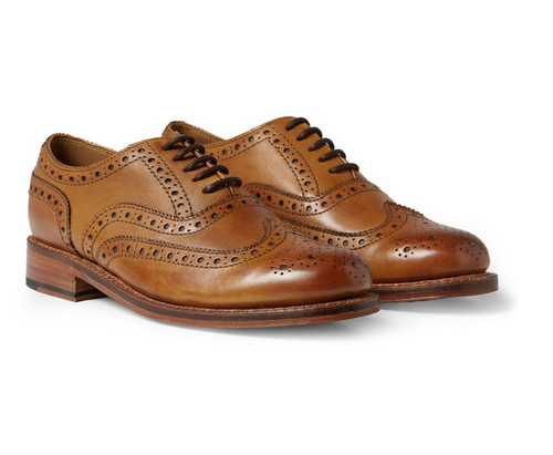 Beautiful and a real design classic by a great British brand who know more then a thing or two about brogues, Grenson from MrPorter.com