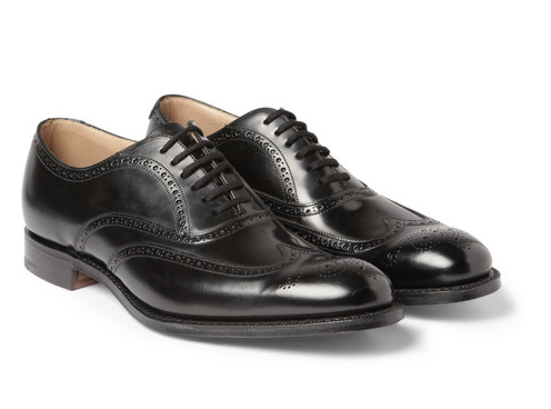 Back to a classic for the Grandaddy of the brogues and a brand synonymous with not only Brogues but great footwear is Churches from Farfetch.com