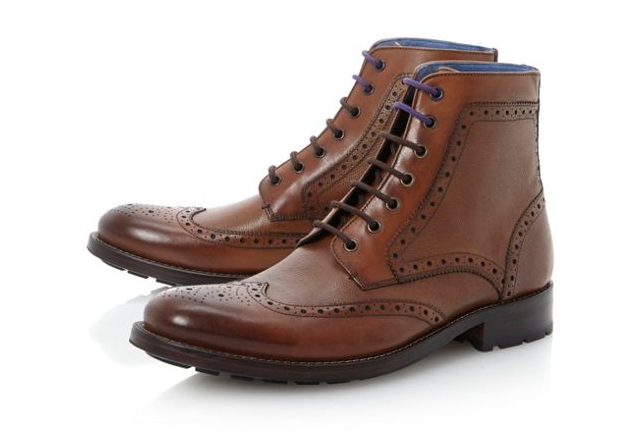 We couldn't show you six of the best Brogues without showing you an example of a great boot version and this is very much one from Ted Baker at House of Fraser