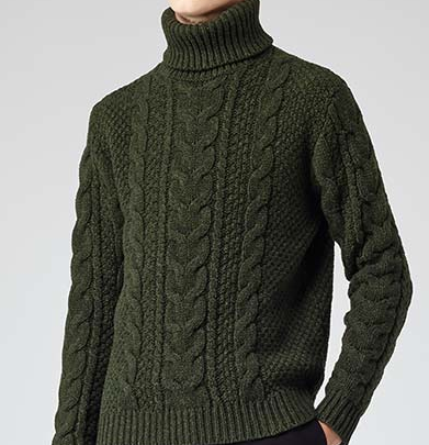 No Winter chills are gonna get past this bad boy from Reiss