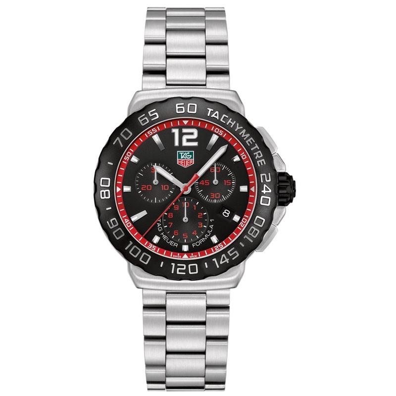 TAG Heuer Formula 1 Chronograph CAU1116.BA0858 red- full view