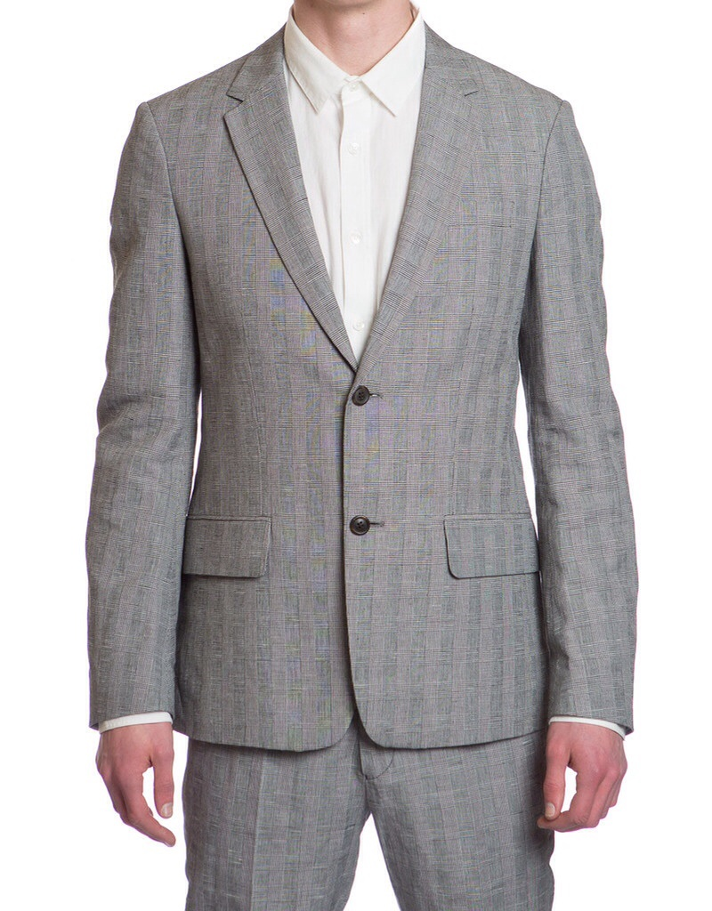 Hentschman John Jacket in Prince of Wales check