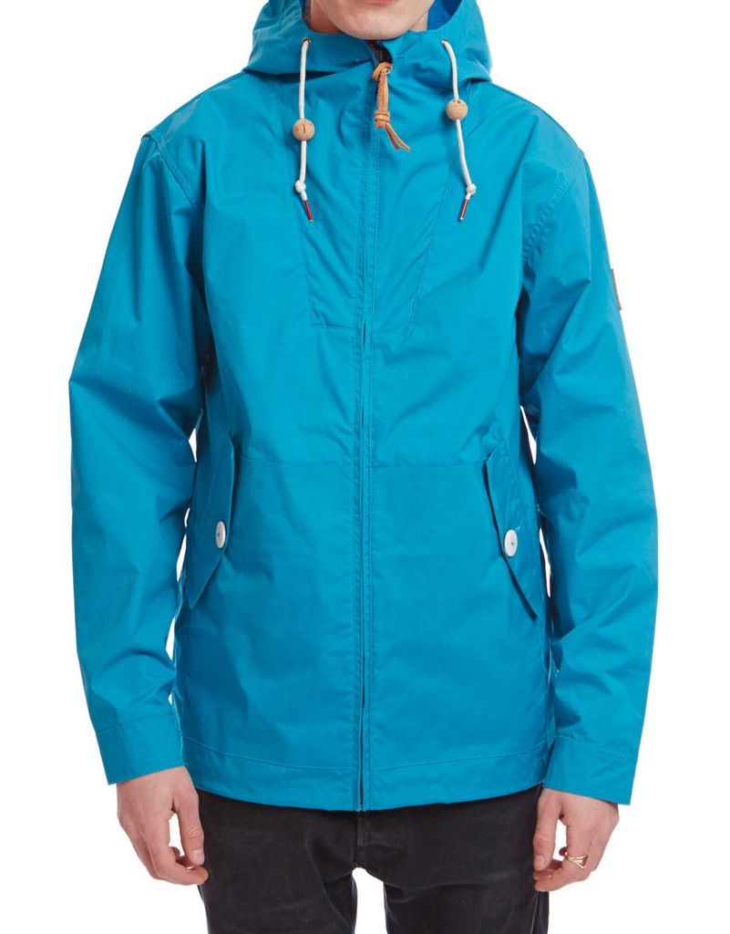 Penfield Mens Hooded Gibson Jacket in Sea Blue