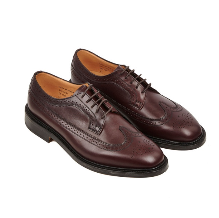 Sanders Belgrade Long Wing Brogue