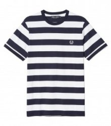 £40 Sports Authentic Striped Ringer T-Shirt|Fred Perry