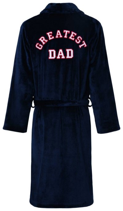 M&S Collection- Greatest Dad Dressing Gown- 6290- £29.50