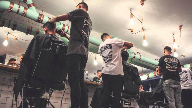 Man Cave Barber Dublin : The great british barber shop clothes make man