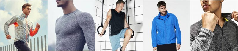 mens gym clothes