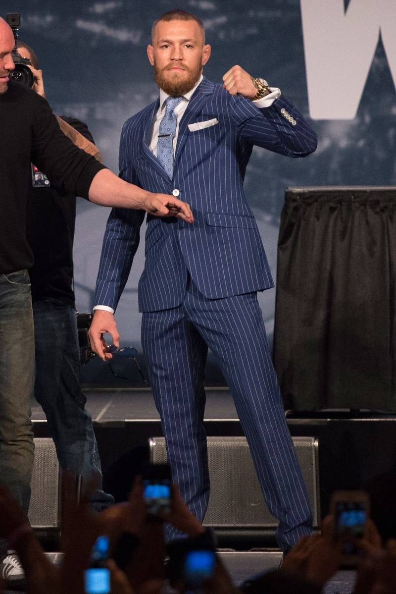 Conor Mcgregor Suit Clothes Make The Man