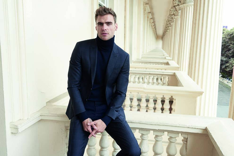 Celebratting Classic English Style – Jaeger Menswear AW17