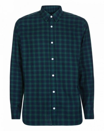 Jaeger Check Flannel Shirt