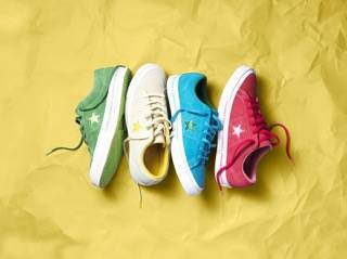 wholesale dealer 2a61d 7f35f ... Star  The most popular design being the Chuck Taylor, one of the most  recognisable shoes of  ASAP Nast x Converse ...