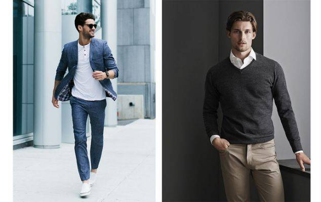 Smart Casual Decoding The Dress Code Clothes Make The Man