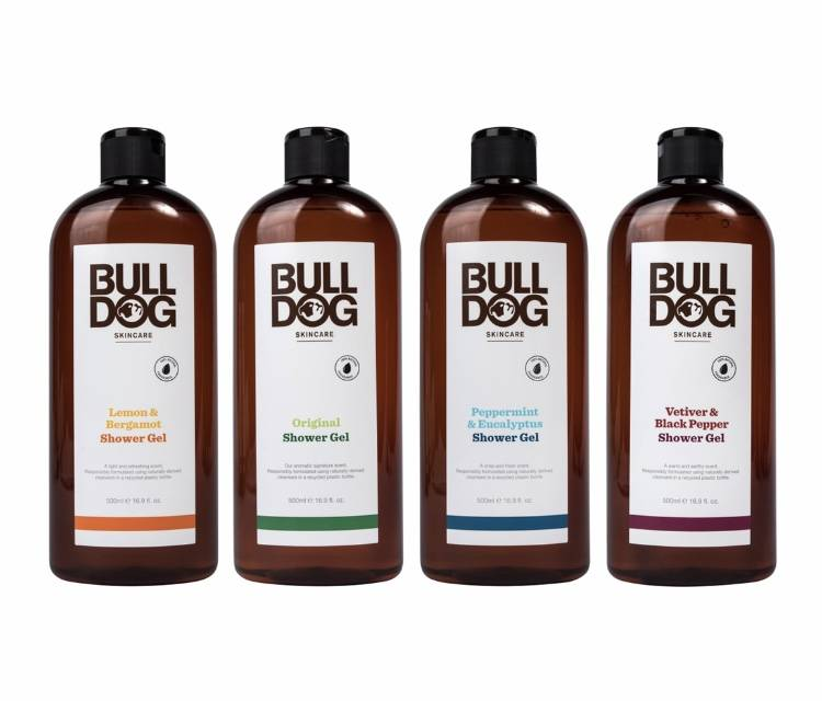 Not only good for you but the planet too ! Bulldog Skincare Launch Environmentally Conscious Shower Gels