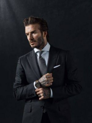 The evolution of a Style Icon – David Beckham